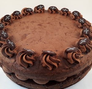 chocolate sponge cake - handmade wholesale cakemakers by Patisserie Box