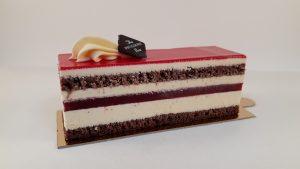 raspberry vanilla slice