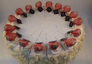 strawberry gateaux by Patisserie Box